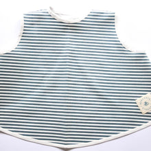 Load image into Gallery viewer, Coated Tunic - Stripes Heaven Green