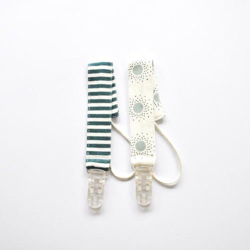Pair of Dummy Clips - Green Shades