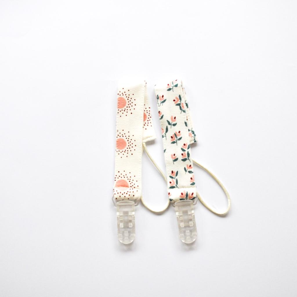 Pair of Dummy Clips - Pink Shades