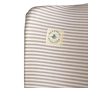 Changing Mat Cover - Stripes Heaven Grey