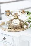 Gold antique rotary phone | Utah Wed Rentals