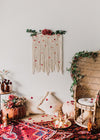 """Kiss on My List"" Macrame Minis 