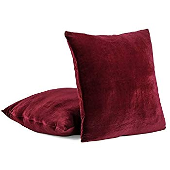 """Ruby"" Pillows (2)"