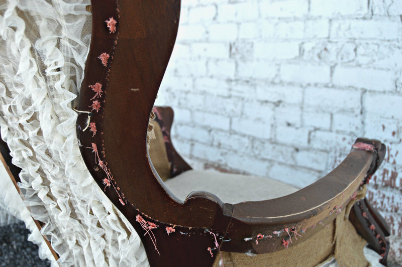Shabby-chic chairs