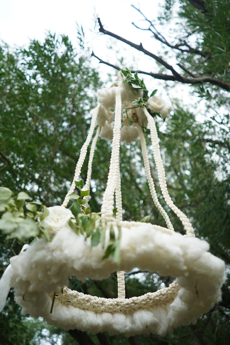 Macrame hanging decor