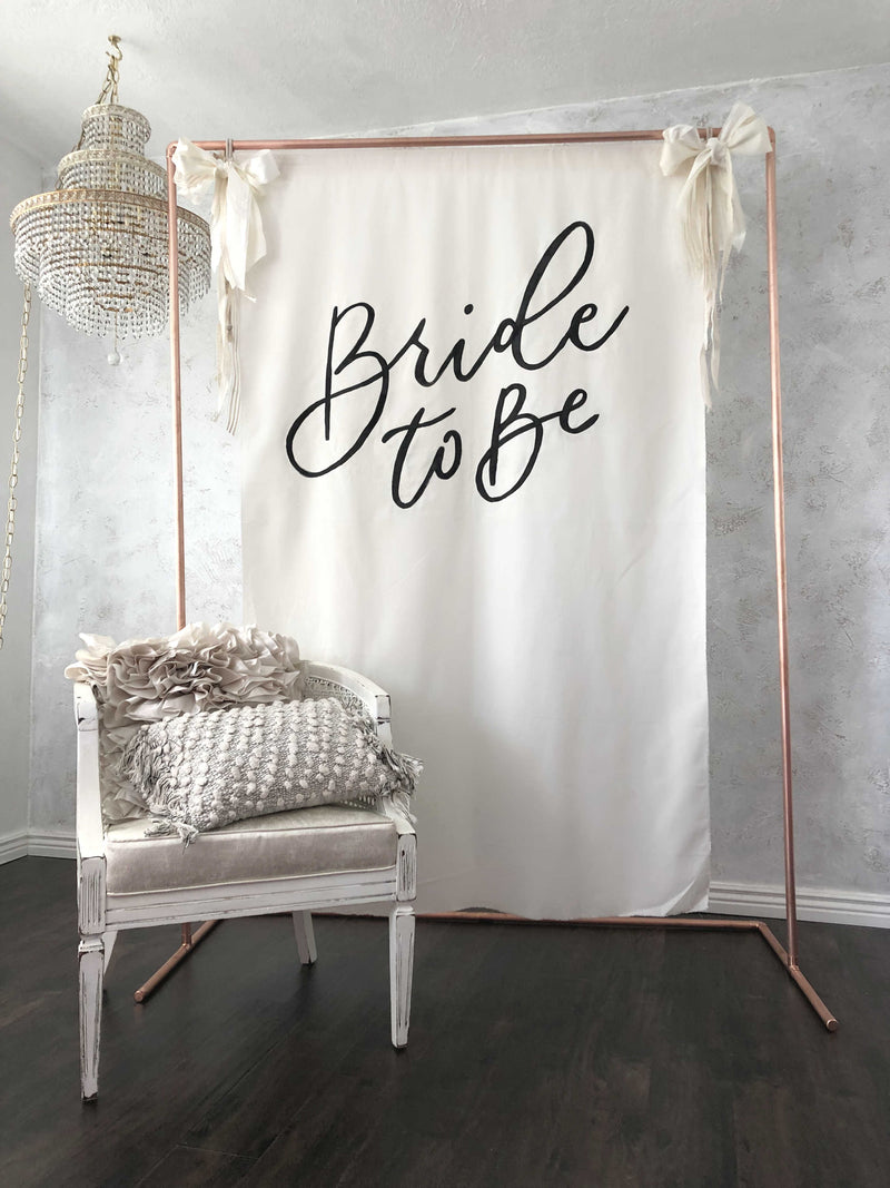 """Bride to Be"" Calligraphy Tapestry"