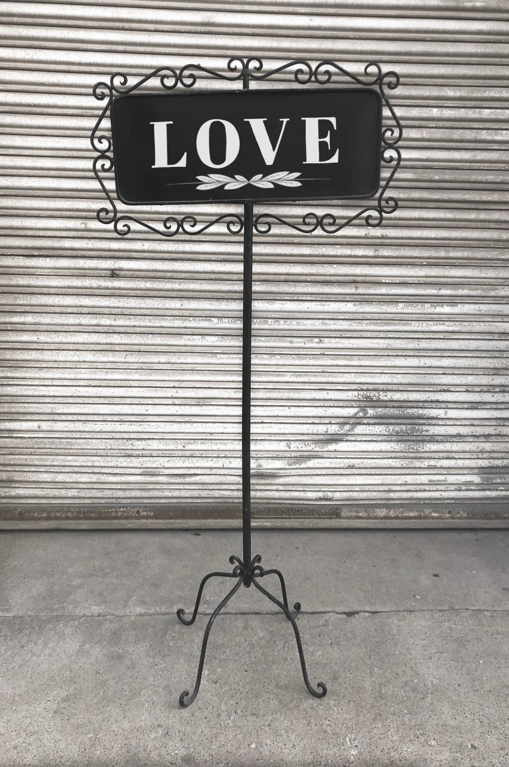 """Chalk-full of Love"" Sign"