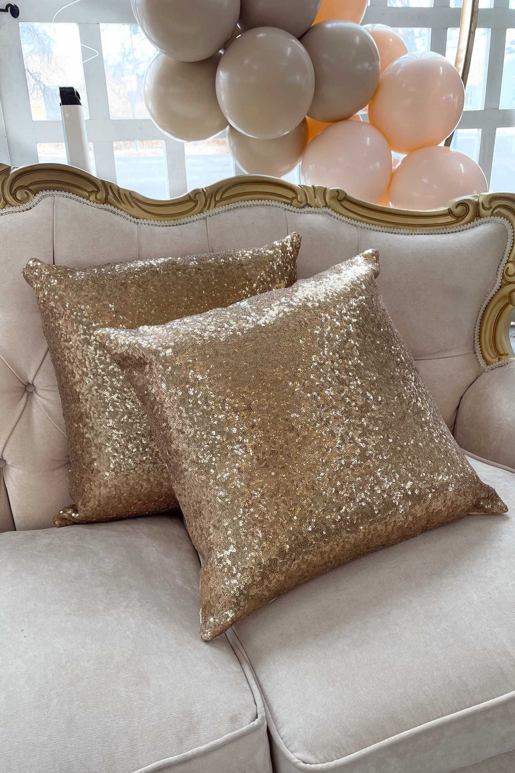 """Deja"" Pillows 