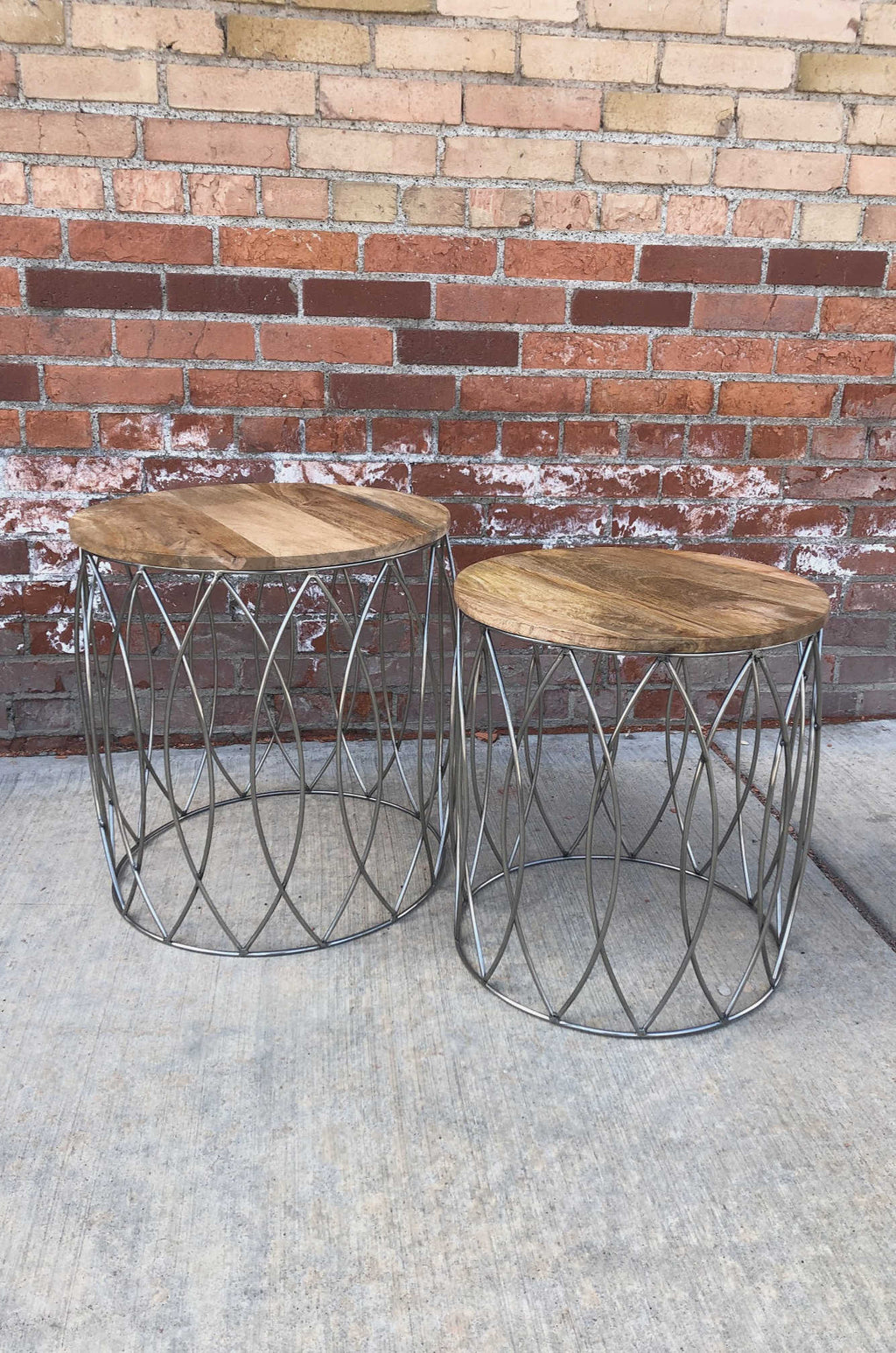 """Free Bird"" Wood Tables"