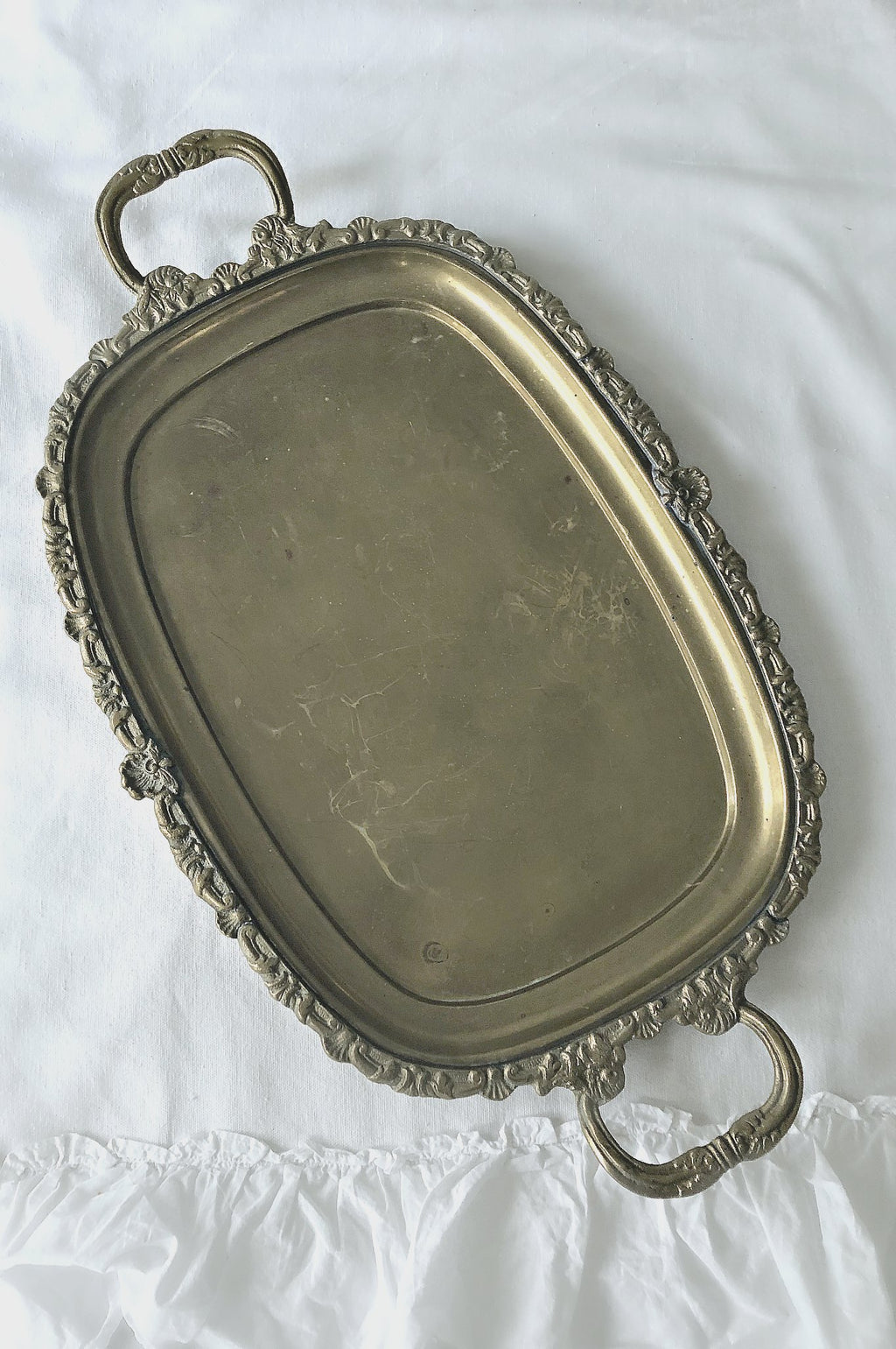 """Antique Gold"" Display Trays"