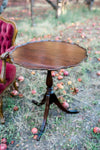 Victorian pie crust table