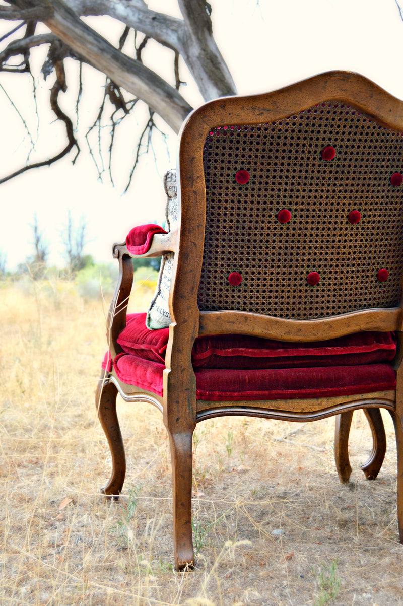 """Return To Me"" Red Chairs (2)"