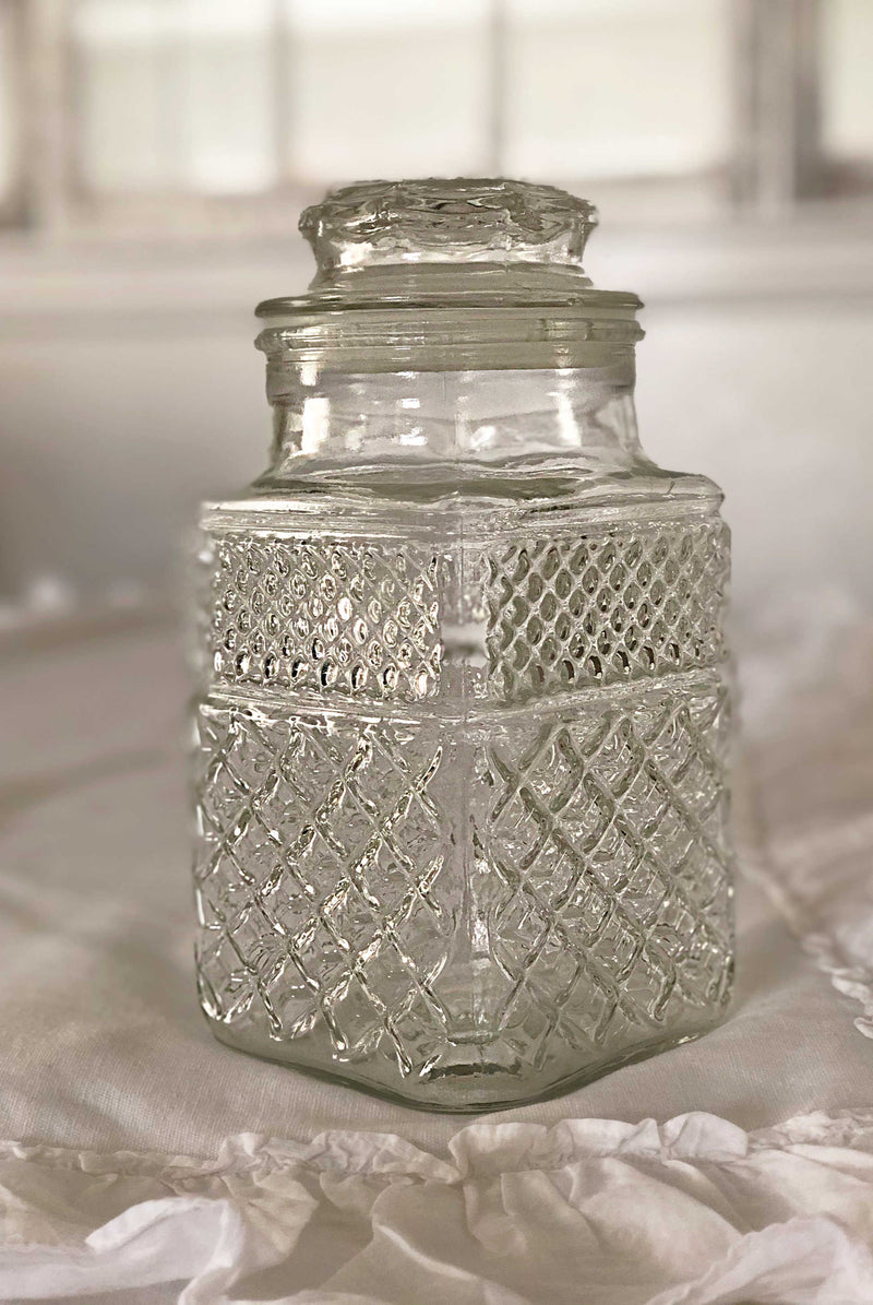 """Sugar Crystals"" Candy Jar"