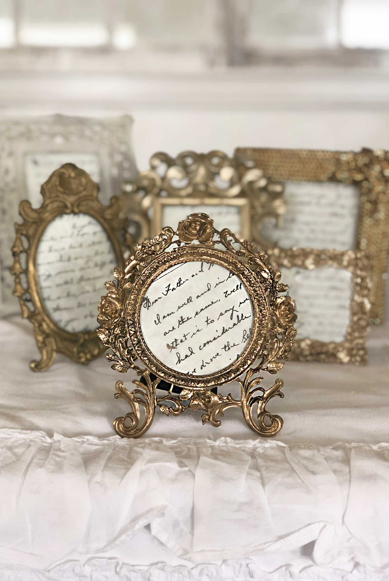 """Must Have Been Love"" Table Frames 