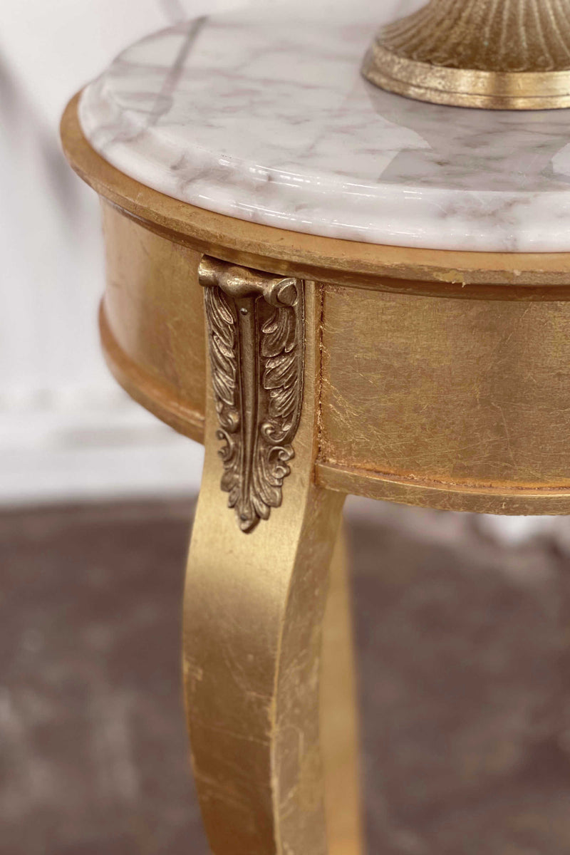 """Waltz of Paree"" Gold Table"