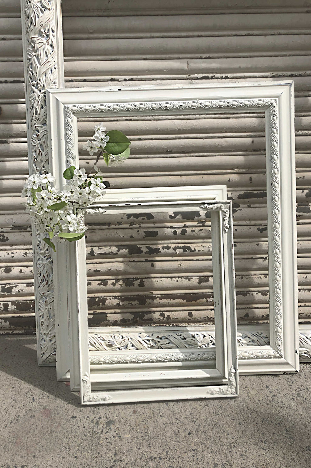 """White Wedding"" Frames"