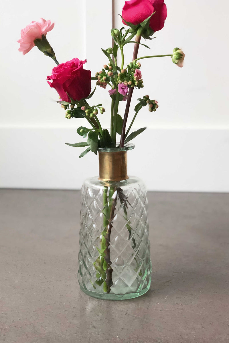 """Wonderful Life"" Vase Short 