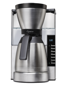 Capresso MT900 10-Cup Rapid Brew Coffee Maker with Stainless Steel Thermal Carafe
