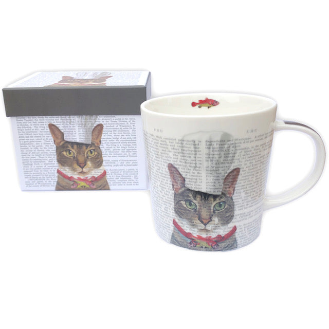 Boxed Cat Chef Mug