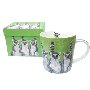 Lemurs Mug with Box