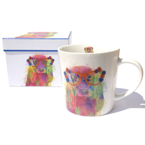Rainbow Dog Mug with Box