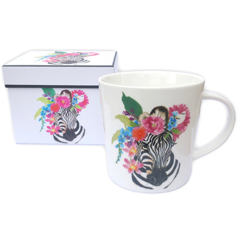 Zebra Mug with Box