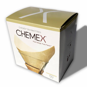 Chemex® Bonded Filter Squares 100 Ct. (natural)