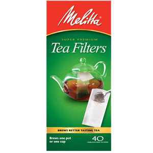 Melitta Tea brewing bags envelopes