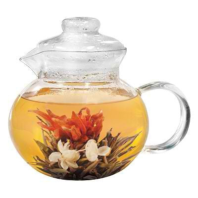 Primula Glass Tea Pot 40 oz 5 cups loose tea infuser Empire Coffee