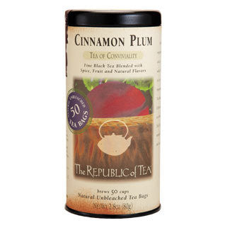 RT-Cinnamon Plum Black Tea 50 Bags