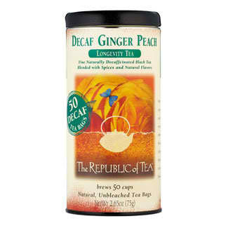 RT-Decaf Ginger Peach Black Tea 50 Bags