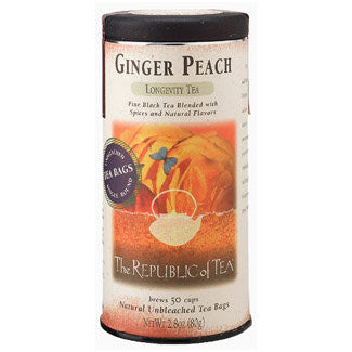 RT-Ginger Peach Black Tea 50 Bags