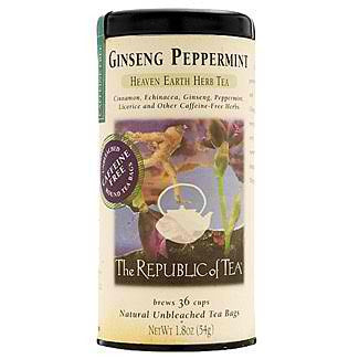RT-Ginseng Peppermint Herbal Tea 36 Bags