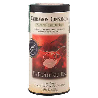 The Republic of Tea Cardamon Cinnamon Herbal Tea