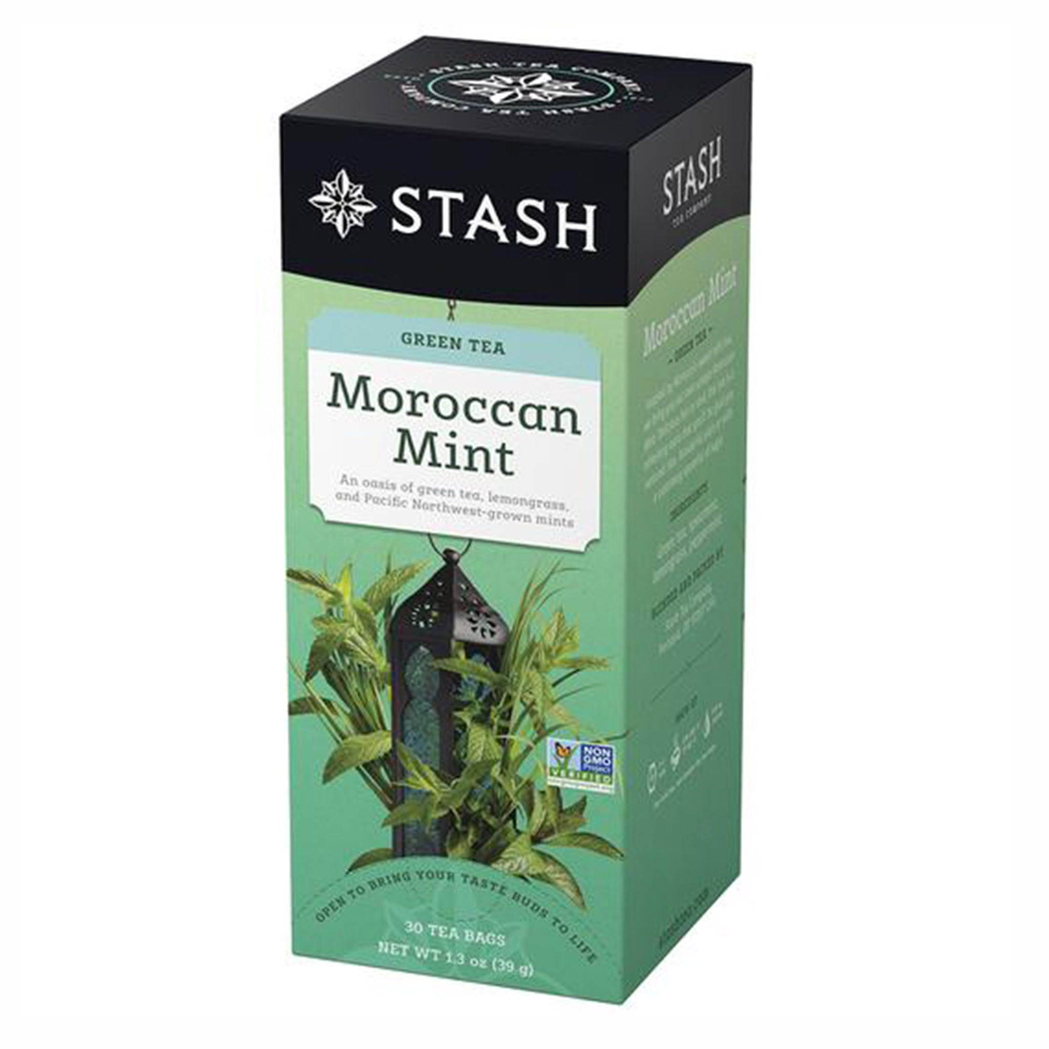 Stash Moroccan Mint Green, 30 Tea Bags