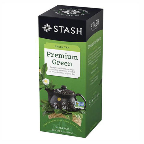 Stash Premium Green, 30 Tea Bags