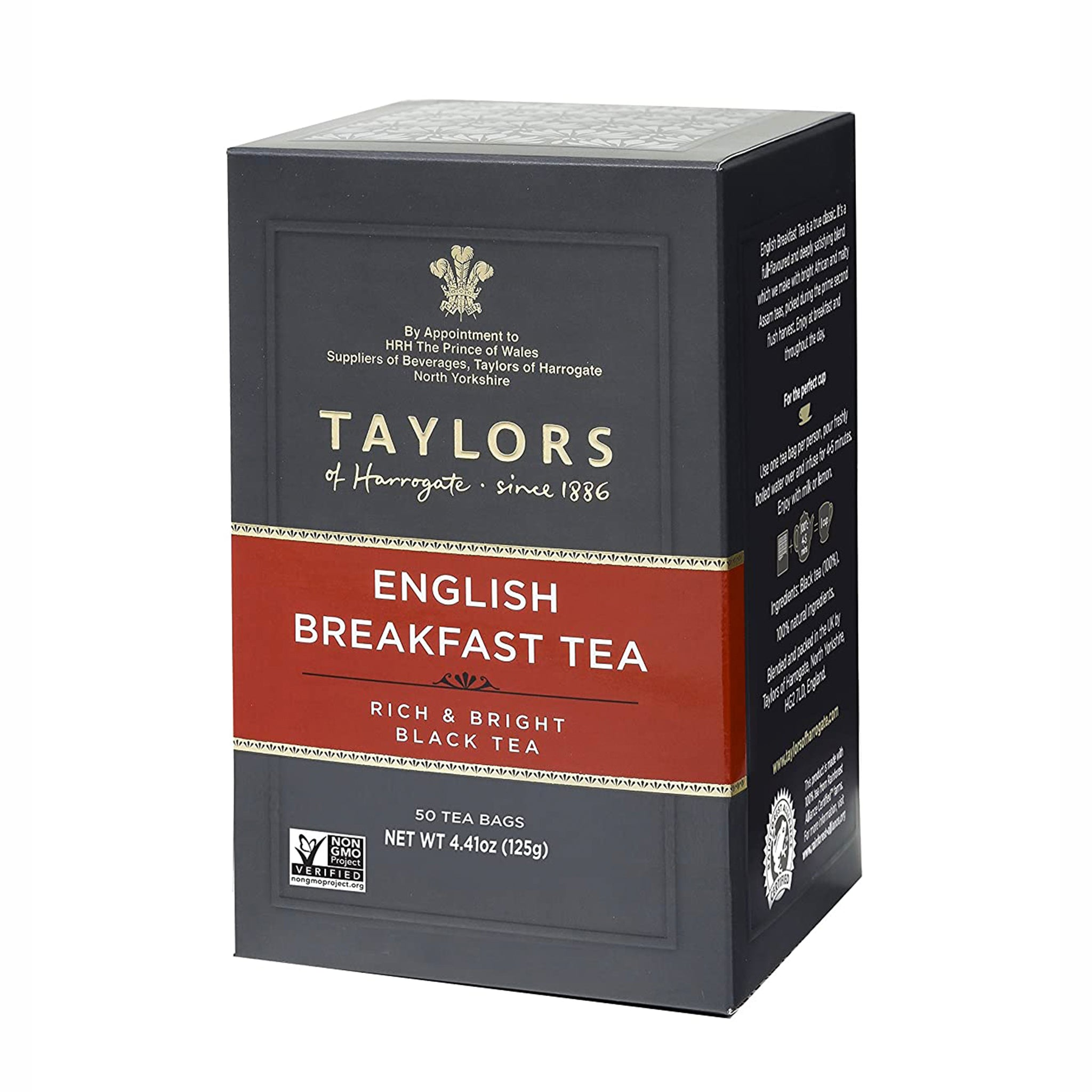 Taylor's English Breakfast Tea  50 Bags