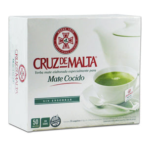 Yerba Mate Cruz De Malta Tea Bags Empire Coffee and Tea