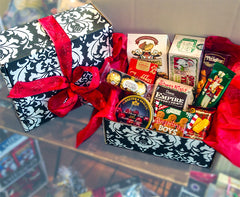 Damask Holiday Box