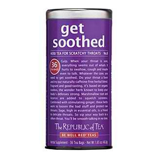 get soothed® 36 Tea Bags the republic of tea