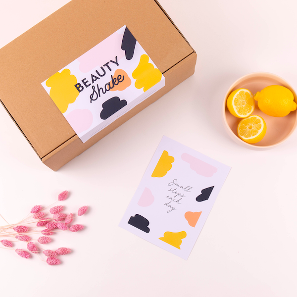 packaging beautyshake cosmétique DIY