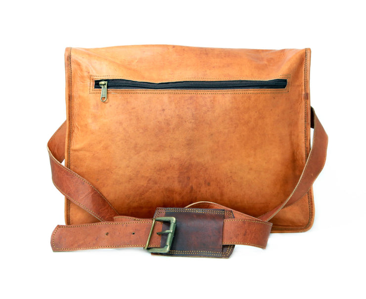 Vintage Style Messenger Laptop Bag