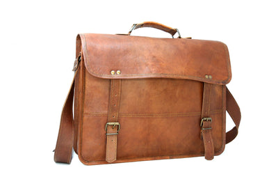 Vintage Style Laptop Bag