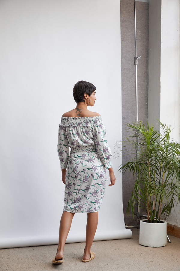 The Orchid Garden skirt