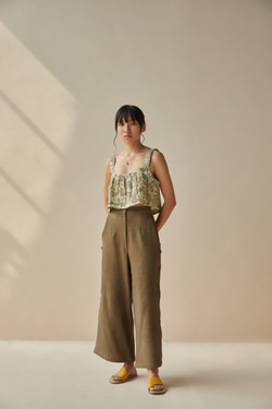 The Soul handwoven organic cotton trousers