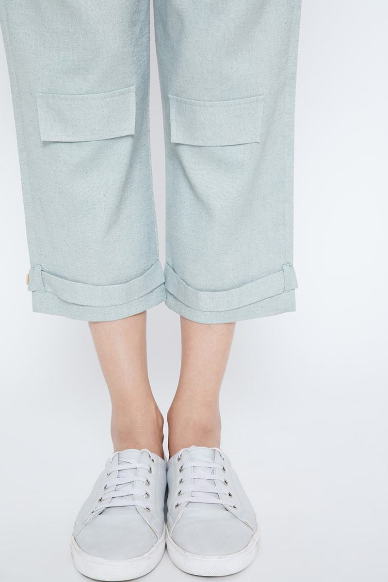 B(risk) It hemp trousers