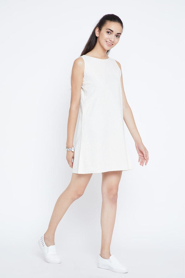 Pebble Beach Vibes hemp dress