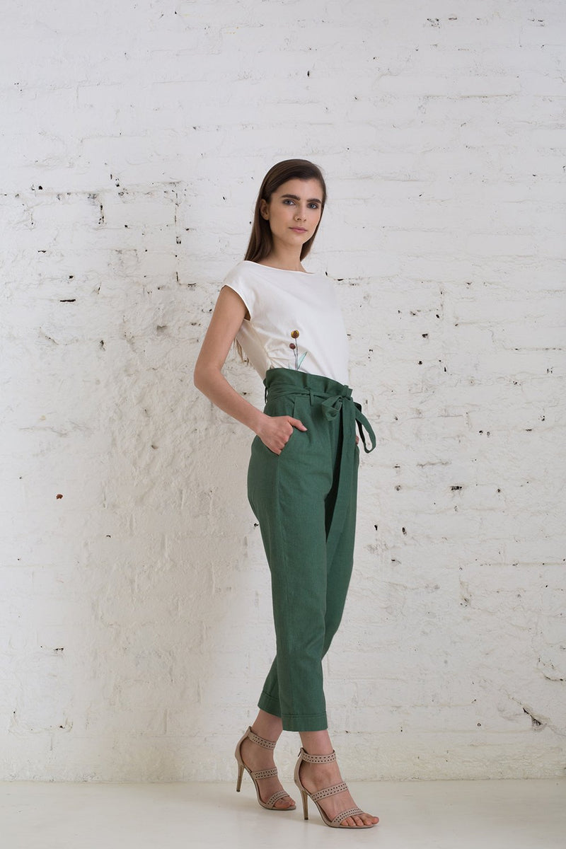 Calm as a Palm hemp trousers