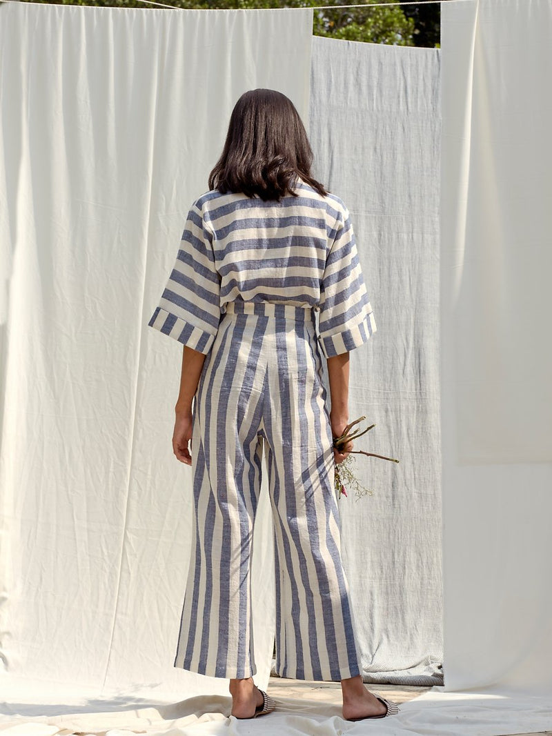 Escape into Nature organic cotton trousers
