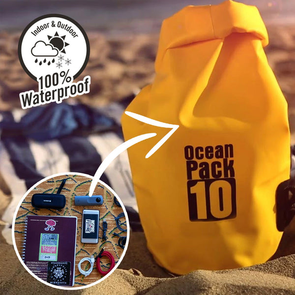 OCEANPACK® | KEEP YOUR VALUABLES SAFE & DRY! - Official Retailer